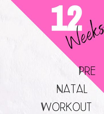 Pre Natal - 12 Week Program
