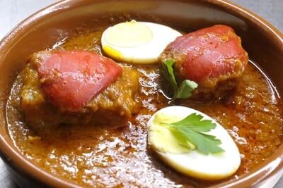 bacalao en salsa de tomate / Bakailaua tomate saltsan