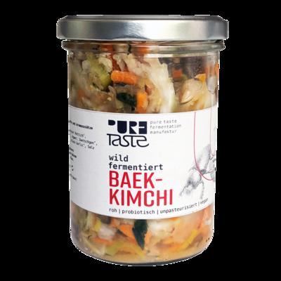 Pure Taste - BAEK KIMCHI, das milde Kimchi ohne Chili