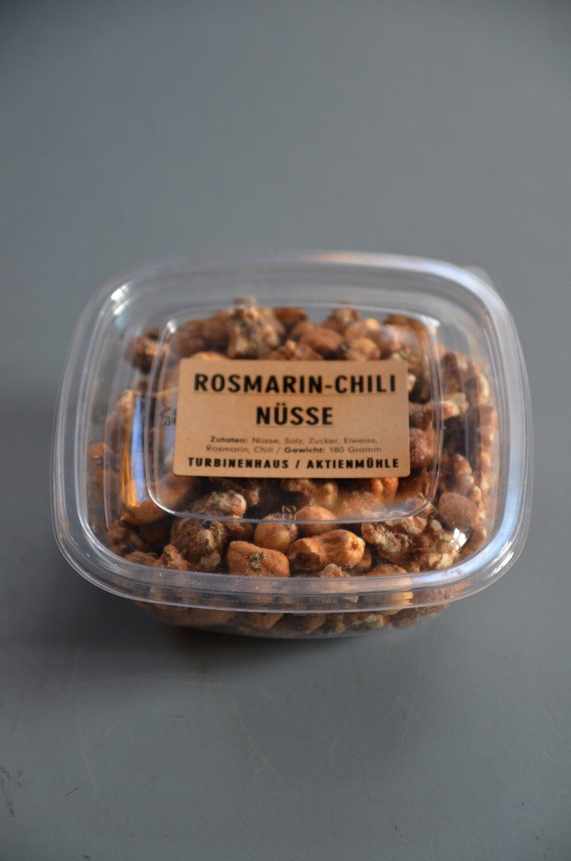 Turbinenhaus / Aktienmühle Rosmarin-Chili Nüsse