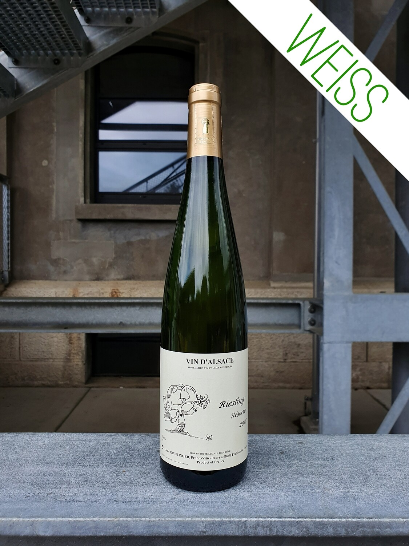 Jean Ginglinger : Riesling Réserve Vin d'Alsace AOC 2018