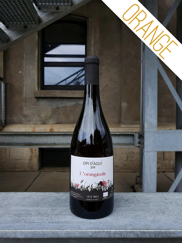 Opi d'Aqui : L'Orangeade Vin de France 2018 (Languedoc)