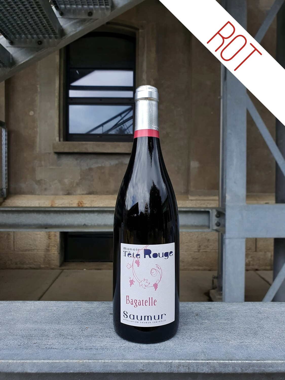 Manoir de la Tête Rouge : Bagatelle Saumur AOC 2017 (Loire)