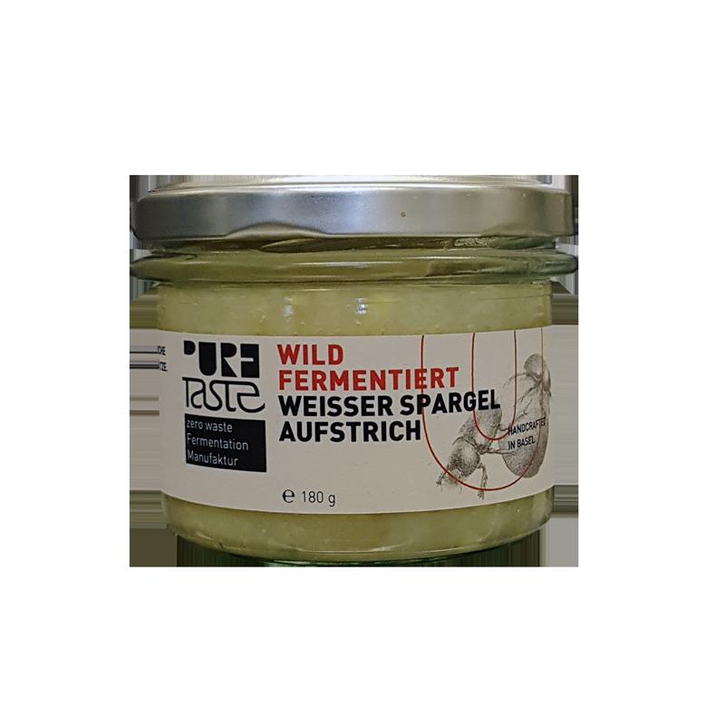 Pure Taste - WEISSER SPARGEL-AUFSTRICH, wild fermentiert