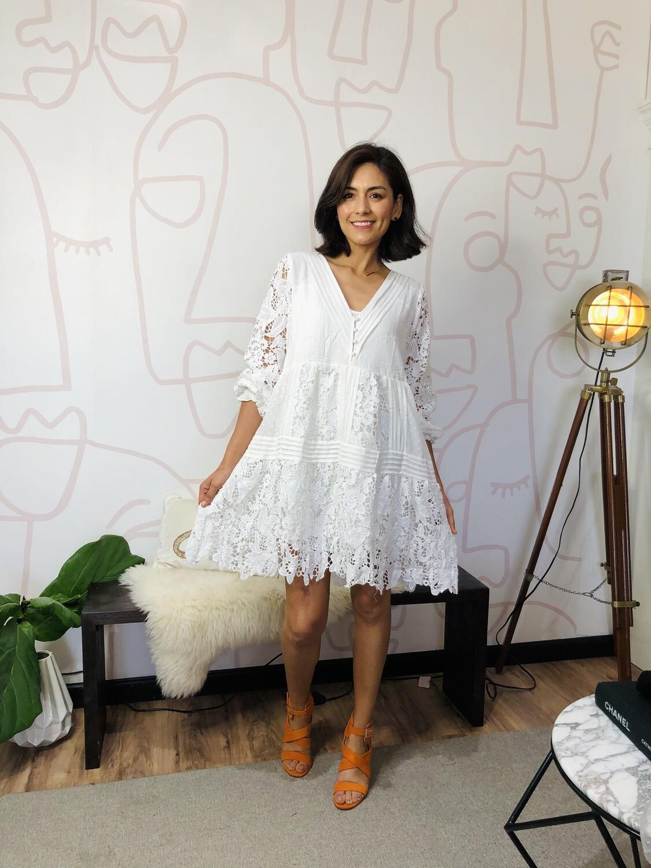 Ale White Dress