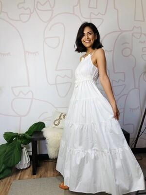 Katia White Dress