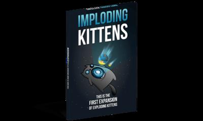 Exploding Kittens Expansion: Imploding Kittens