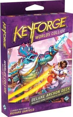 KeyForge Worlds Collide Deluxe Archon Deck