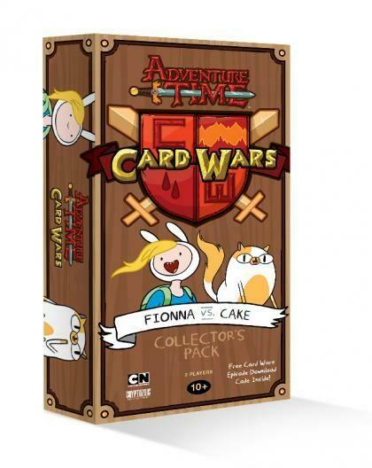 Adventure Time Card Wars Fionna vs Cake