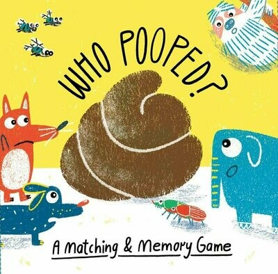 Who Pooped? A Matching and Memory Game