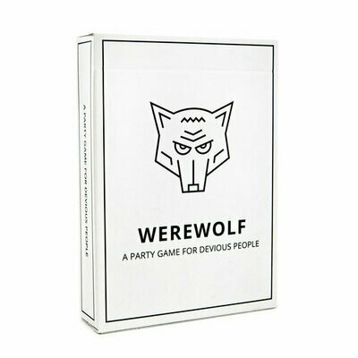 Werewolf Playing Cards