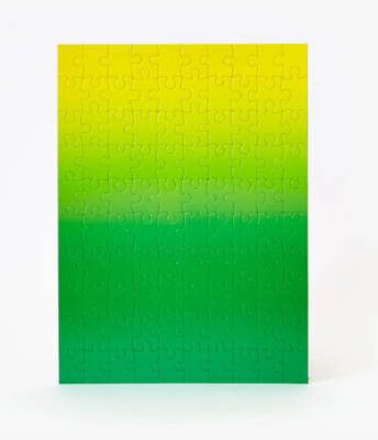Gradient Puzzle Original Collection - Green/Yellow