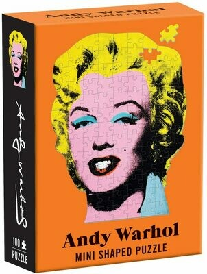Shaped Mini Andy Warhol Marilyn Puzzle