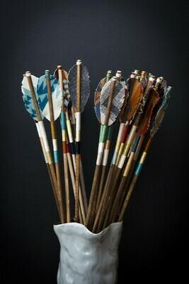 Handmade Fabric Arrows