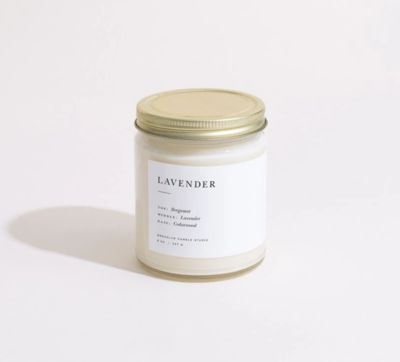 Brooklyn Candle Lavendar Minimalist Candle