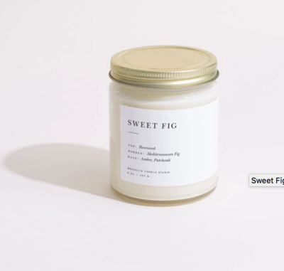Brooklyn Candle Sweet Fig Minimalist Candle
