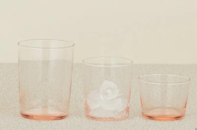 Chroma - glass small - Blush