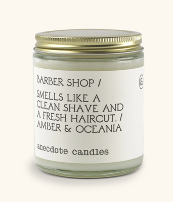 Barber Shop Candle