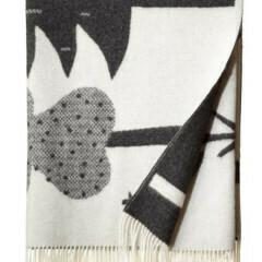 Donna Wilson | Forest Throw - Black/White
