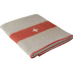 Swiss Army Wool Blanket - Grey