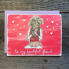 Greeting Card - Beautiful Friend