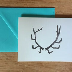 Greeting Card - Antler