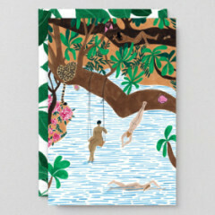 Greeting Card - Jungle Beach Card