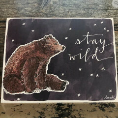 Greeting Card - Stay Wild