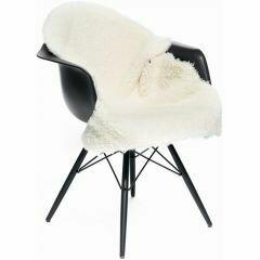 Ivory - Sheepskin - short-wool - curly - 90cm