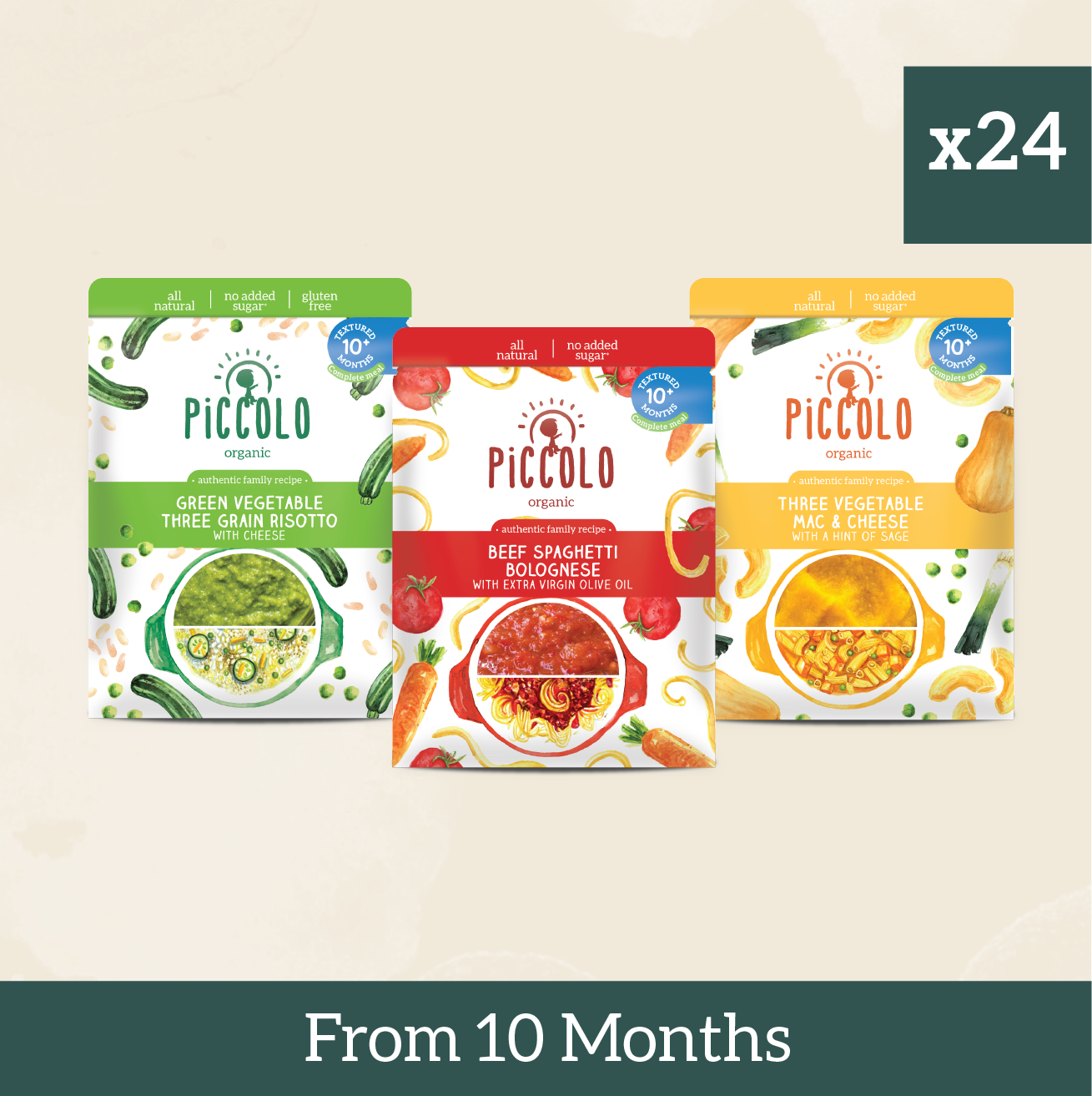 24x Complete Meals from 10 months
