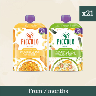 Piccolo Organic Textured Meals: Veg
