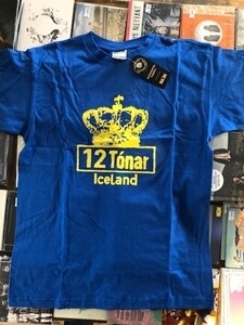 12 Tónar T-Shirt Blue Large