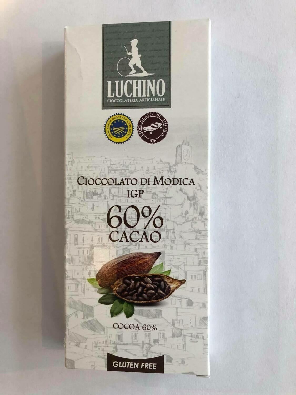 Luchino Súkkulaði 60% Cocao 100gr.
