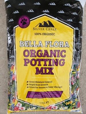BAGGED- BELLA FLORA ORGANIC POTTING MIX
