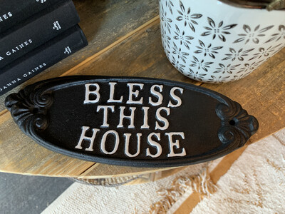 BLESS THIS HOUSE- PLAQUE