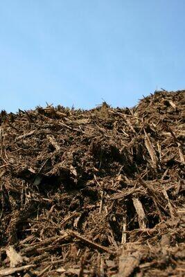 Bulk Hardwood Bark Mulch by the yard