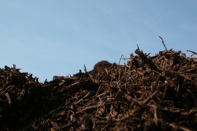 Bulk Brown Enhanced Mulch by the yard