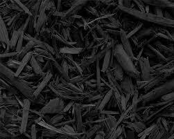 Bulk Black Shredded Mulch by the yard