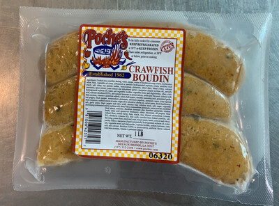 Poche's CRAWFISH BOUDIN FROZEN