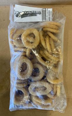 Breaded Onion Rings 2 LBS FROZEN