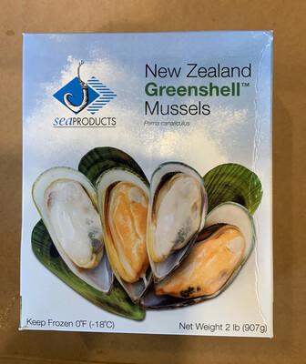 NEW ZEALAND HALF SHELL l Mussels FROZEN