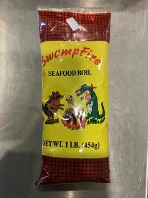Swamp Fire Boil 16 0z