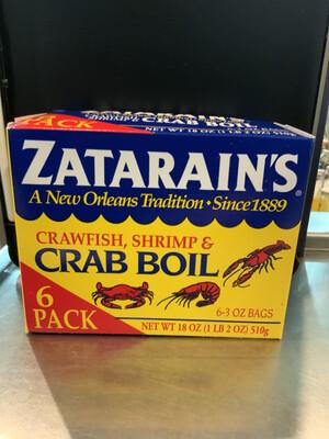 Zatarain's Crab Boil 6 Pack