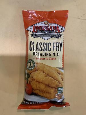LA Fish Fry No Salt  10 oz