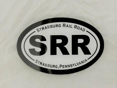 Car Magnet SRR Oval