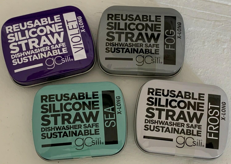 Reusable Silicone Straws