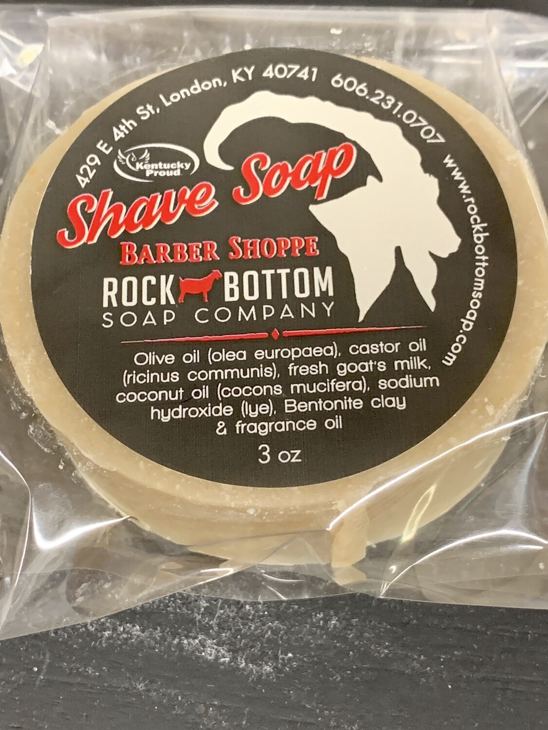 Rock Bottom Shave Soap