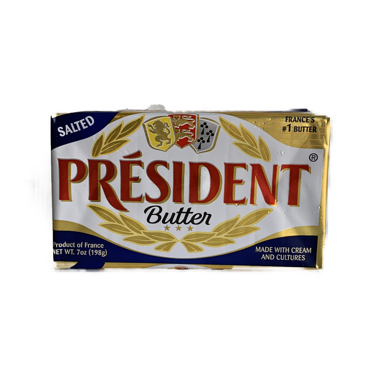 president salted butter 7 oz.