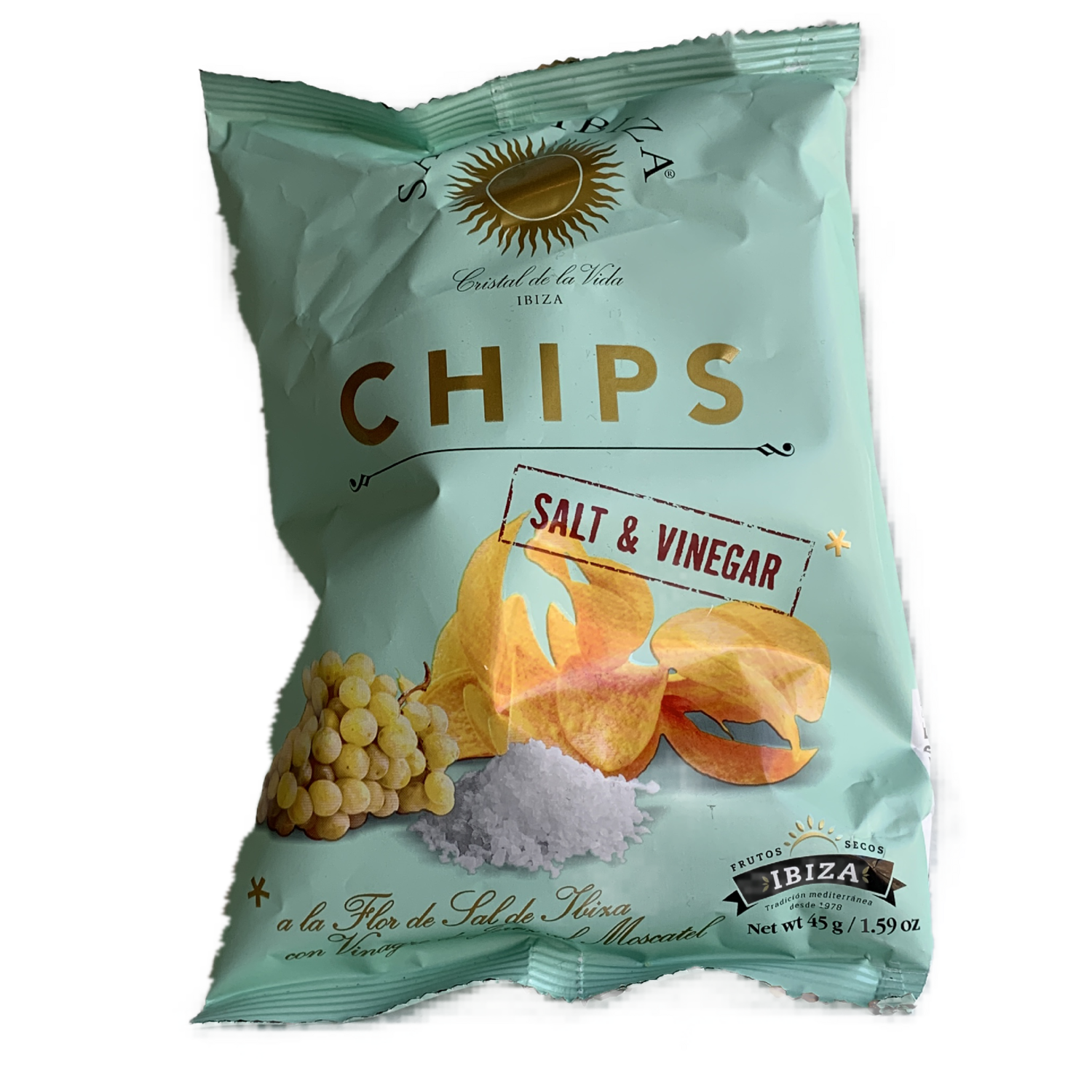 Ibiza Salt and Vinegar Potato Chips Small