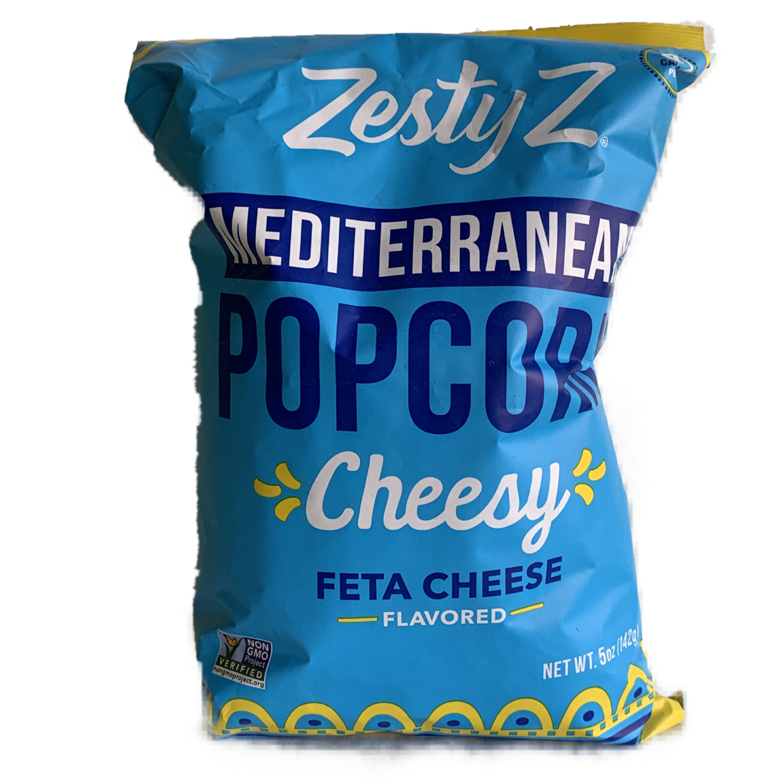 Zesty Z Feta popcorn